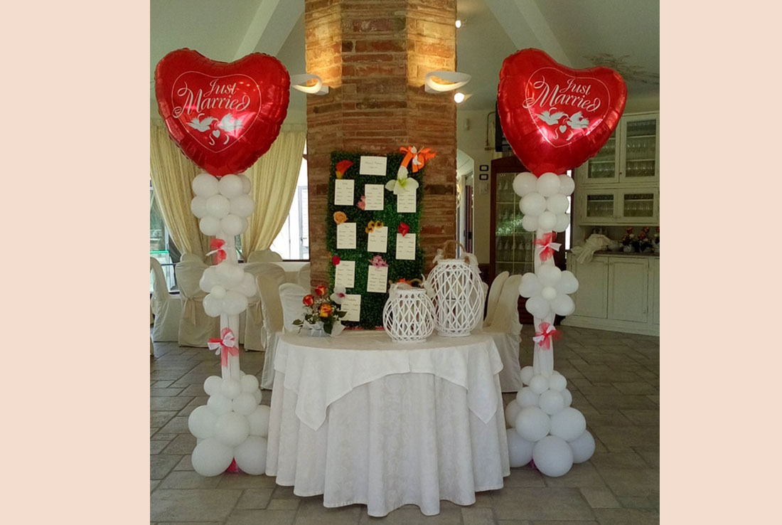 cuore tableau mariage